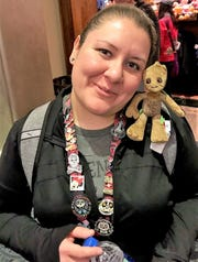 Karla Dominguez is shown in a vacation photo in 2019.