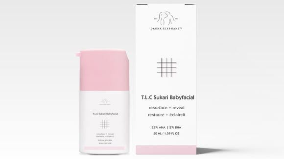 Brighten skin's clarity with this exfoliant.