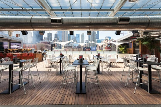 The Godfrey hotel offers views of the Chicago skyline from its roof. It is one of the hotels offering discounts to travelers for future stays.