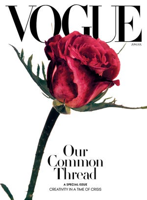 Vogue's June/July special issue cover.
