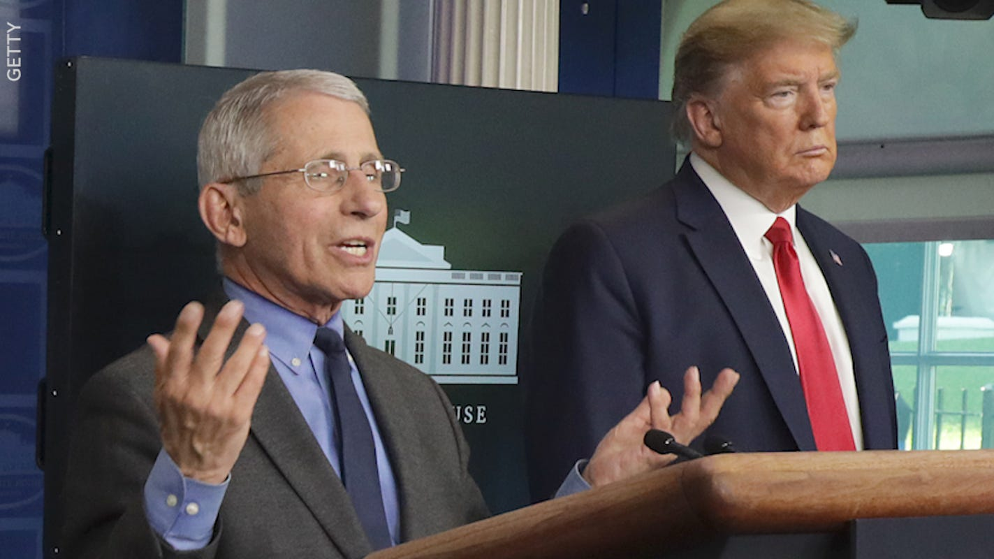 Donald Trump doesn't like Dr. Fauci's football comments, says Fauci 'has nothing to do with NFL Football'