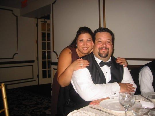 Tom Parisi with wife Josephine