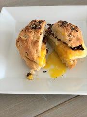 Runny yolks: better than a pop tart.