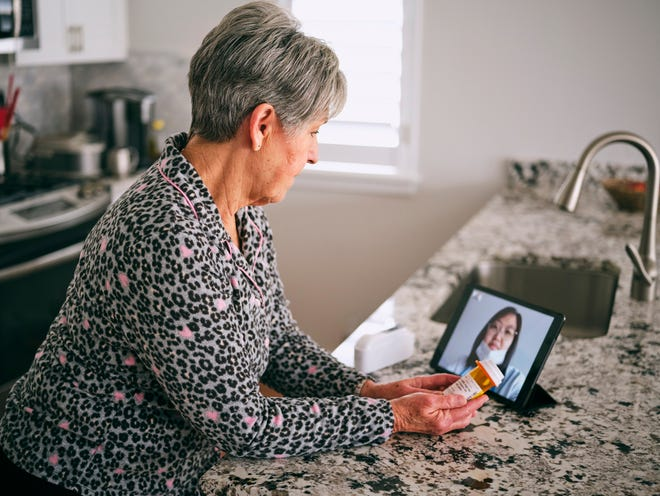 Virtual health brings patients, doctors safely together.