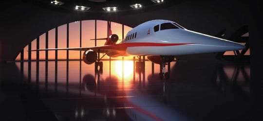 Aerion Supersonic plans to build the world's first privately built supersonic aircraft at a new facility at Orlando Melbourne International Airport.
