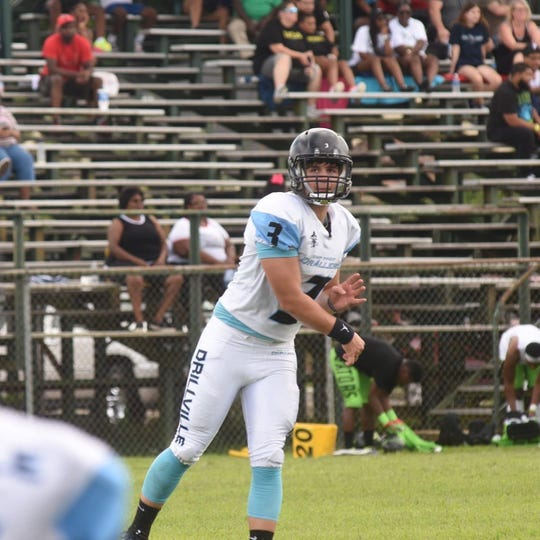 Ty Clark spent the last season down in Louisiana at CMP Prep Academy working on his football skills.