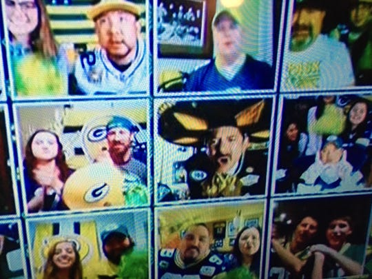 "Corpus Christi's Green Bay Packers Superfan Marcos ""Señor Cheesehead"" Flores was featured on the national telecast of the first round of the 2020 NFL Draft on Thursday, April 23, 2020."