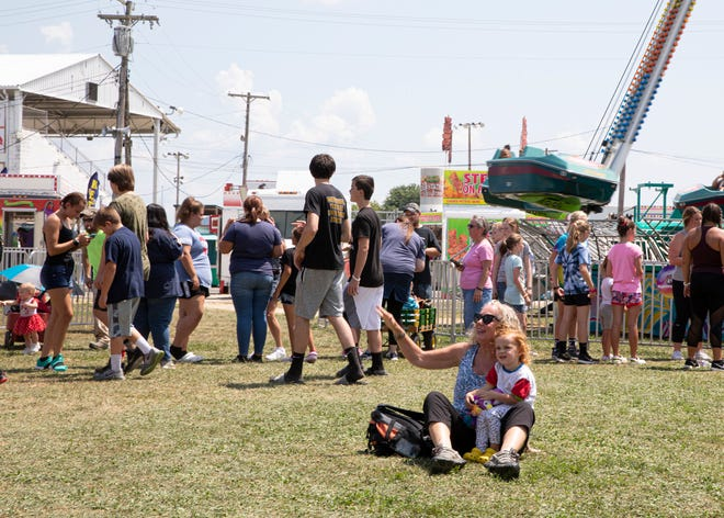 Free rides, horses, and several other events kept Ross County Fair event attendees busy throughout the day on Monday, August 5, 2019.