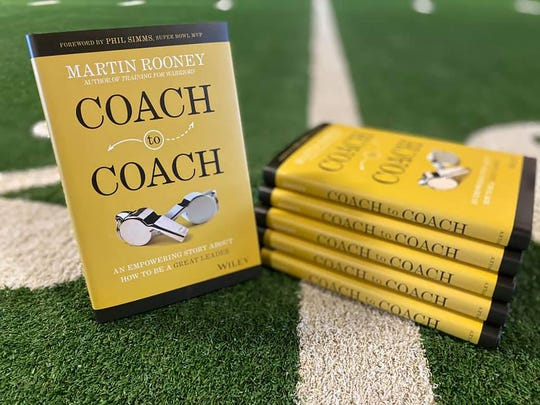 """Sayreville-raised Martin Rooney's ninth and latest book is """"COACH to COACH: An Empowering Story about How to Be a Great Leader."""""""