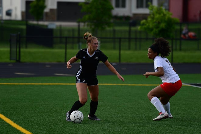 Ankeny Centennial senior and soccer player Jaecee Hall will join the University of Iowa rowing team in the fall.
