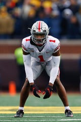 The Lions selected Ohio State cornerback Jeff Okudah at No. 3 overall in the first round of the NFL Draft.