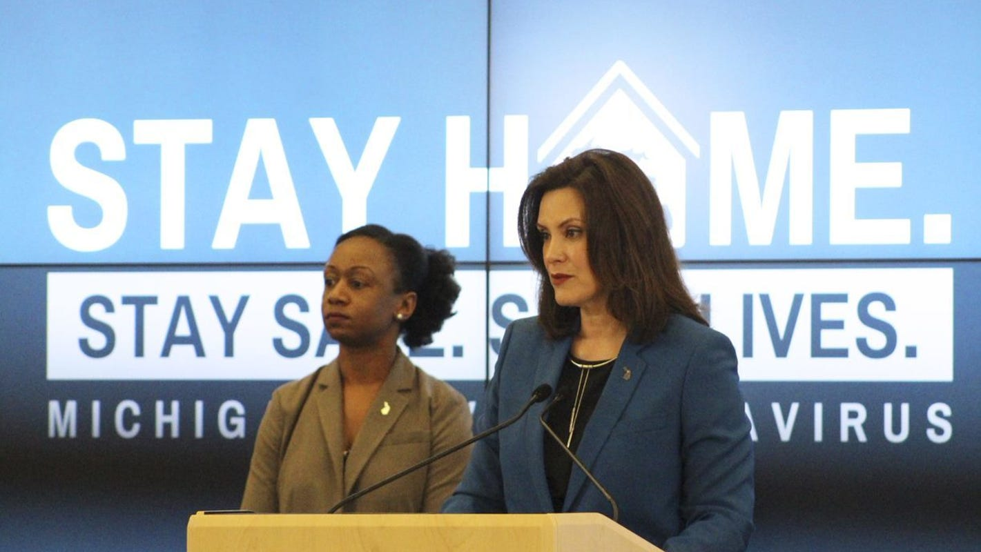 Michigan Gov Gretchen Whitmer Extends Stay Home Order Through June 12