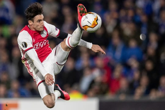 The Dutch soccer league was canceled Friday because of the coronavirus crisis, but leading team Ajax won't be declared the champion.