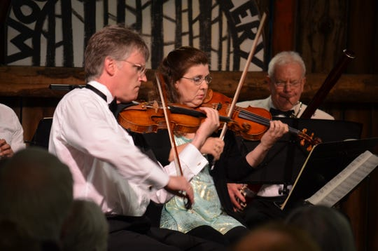 David Perry and Stephanie Preucil play a Midsummer's Music concert at Woodwalk Gallery. Midsummer's is considering changes to its 2020 season because of concerns over the COVID-19 crisis with its concerts held in intimate locations such as Woodwalk.