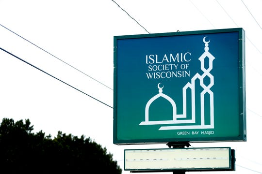 Scenes of the Islamic Society of Wisconsin on Friday, April 24, 2020, in Green Bay, Wis.