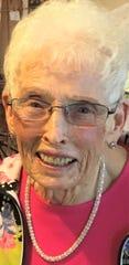 Doris Ehli lives in at Heritage Center in Shelby.