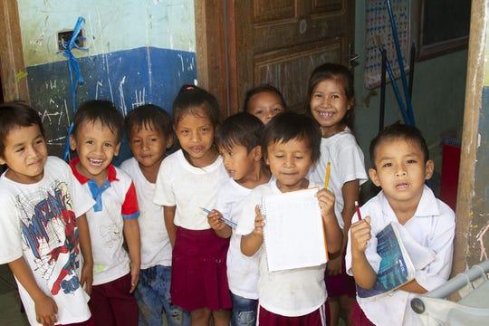 The children of Villa Cotoca