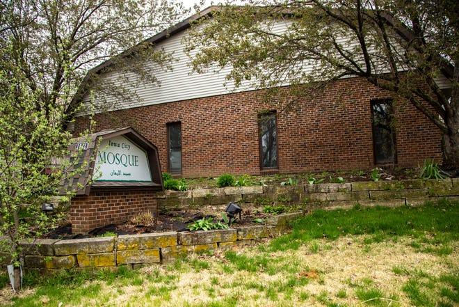 The Iowa City Mosque is seen, Friday, April 24, 2020, along Benton Street in Iowa City, Iowa.