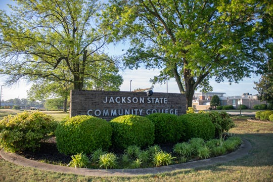 Jackson State Community College at Jackson, Tenn., Friday, April 24, 2020.