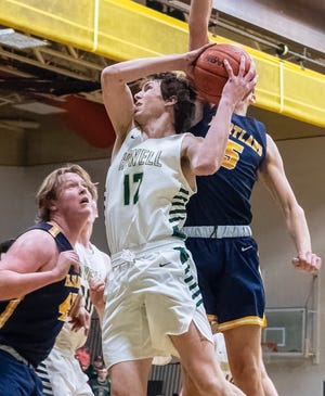Howell's Tony Honkala has committed to attend Albion College on a basketball scholarship.