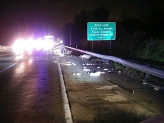 A 24-year-old Henryville, Indiana, man was killed Thursday, April 23, 2020, when his stranded vehicle was hit by a semitruck on Interstate 65 South in Clark County, Indiana.