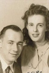 Mary and Wilford were married in 1946. They lived in Beloit, Milwaukee, New Berlin and Wauwatosa.