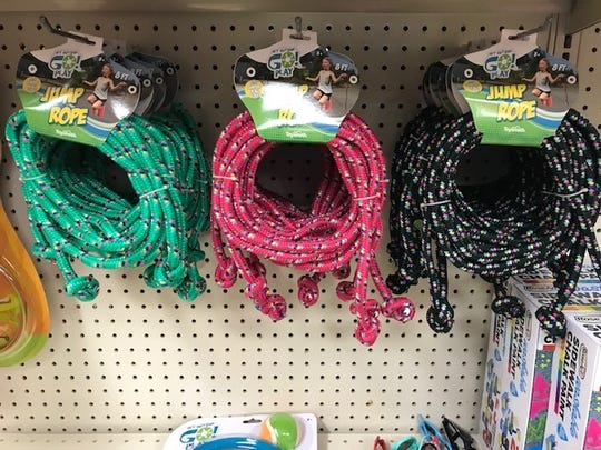 Winkie's Toys and Variety has been selling lots of jump ropes as the weather has started to warm up.