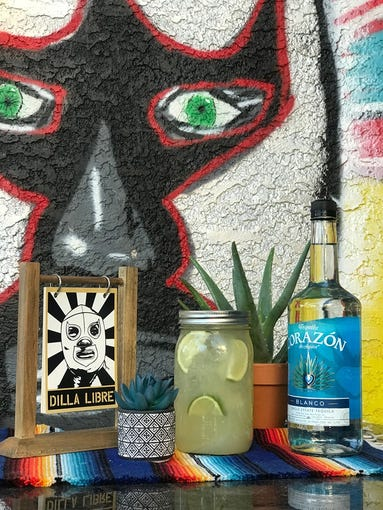 """<strong>Corazon Margaritas at Dilla Libre </strong><br /> This north Phoenix and Scottsdale quesadilla restaurant continues to sling quart sized mason jars (serves 3 drinks) of house Corazon margaritas for $15. Pair the jar of margs with an order of carne asada fries or&nbsp;banh mi&nbsp;quesadillas for dinner. Orders should be made on the<a href=""""https://www.dillalibre.com/new-page-1"""" target=""""_blank""""> Dilla Libre website.</a><br /> <strong>Details:&nbsp;</strong>1339 E. Northern Ave., Phoenix. 602-399-4024 and&nbsp;8018 E. Thomas Road, Scottsdale. 480-947-5100.&nbsp;<a href=""""https://www.dillalibre.com/new-page-1"""">dillalibre.com</a>."""