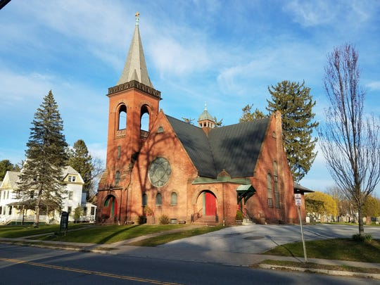 The cornerstone for St. Paul's Evangelical Lutheran Church in Red Hook was laid in 1899. Costing $19,207.63 to build, today it is one or the oldest Lutheran churches in the country.