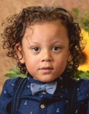 Osvaldo Correa-Mitchell Jr., 3, of East Manchester Township.