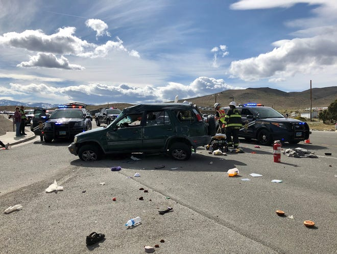 A Silver Springs woman was killed in an April 22 accident on Highway 50.