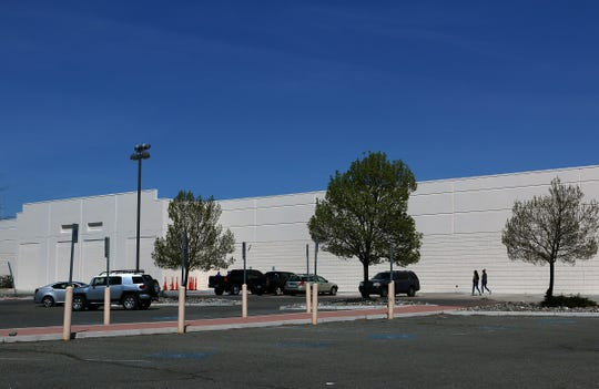 The former Lowe's building is seen on Oddie Blvd. in Sparks on April 24, 2020.