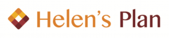 The logo for Helen's Plan