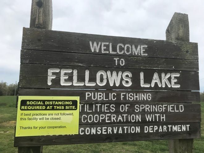 City Utilities announced Friday it would close public access to Fellows Lake amid dropping temperatures heading into the weekend.