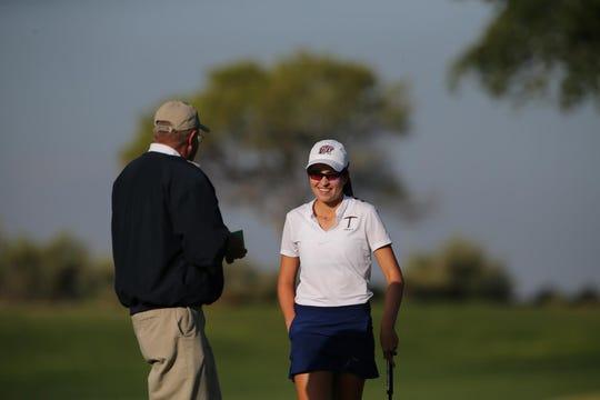 Valeria Mendizabal is the Golden Pick winner for the UTEP golf team