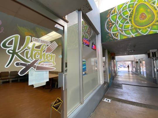 Chef David's Kitchen and Catering opened in downtown Santa Paula in late February. Its owner, David Raigoza, has since pivoted to takeout rather than dine-in service, in keeping with guidelines to help stop the spread of the novel coronavirus.