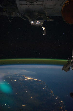 """Vineland Public Library invites children, teens and adults to join a live, educational experience, """"Living on the International Space Station: LIVE!,"""" from 2 to 3 p.m. April 30. This virtual program is most appropriate for fourth graders through adults."""