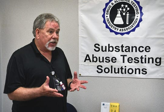 Steve Cooper, owner of Substance Abuse Testing Solutions, talks about his frustration after applying for a government loan to deal with the downturn in business from the pandemic.