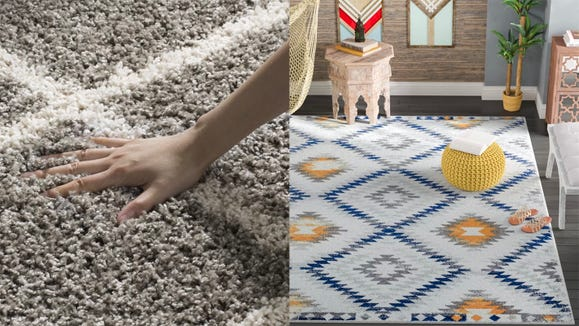 Save on rugs at Wayfair.