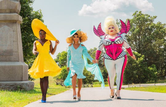 A trio of drag queens stars in HBO's 'We're Here.'