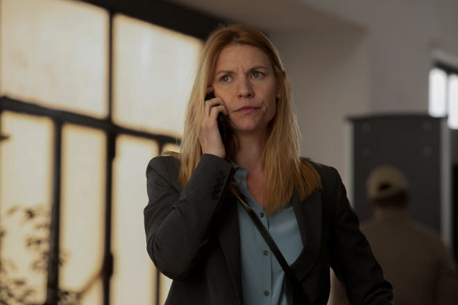 Claire Danes ended an Emmy-winning, eight-season run as super spy Carrie Mathison with the final episode Sunday of Showtime's 'Homeland.'