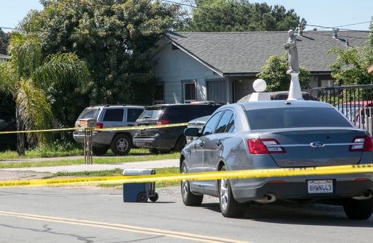 Domestic violence investigation in Lemon Grove, California, in April 2020.