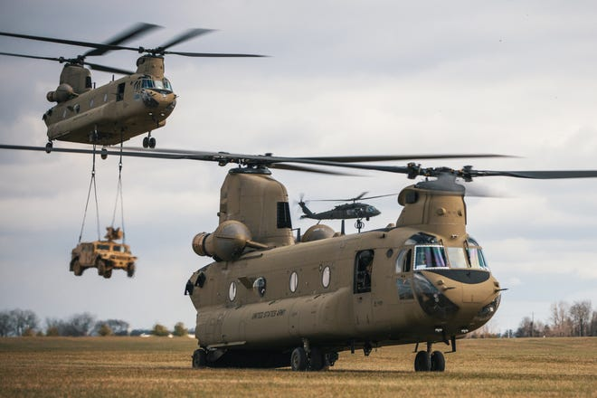 The 101st Airborne Division announced on Friday, April 24, 2020, the upcoming deployment of their Combat Aviation Brigade to Europe.