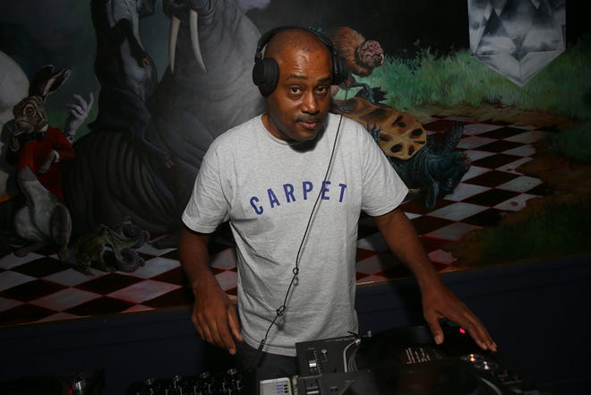 DJ Mike Huckaby performs during the Human/Progress Festival on Sept. 29, 2018, in Washington, D.C.