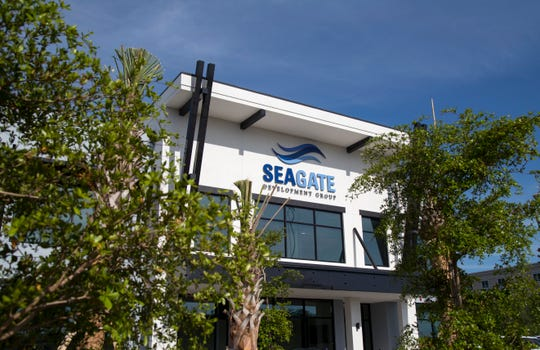 Seagate Development Group is putting the finishing touches on their new company headquarters off Alico Road.