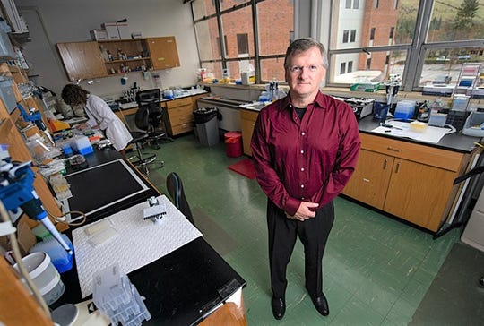 Researcher Jay Evans leads a University of Montana team that was awarded $2.5 million in NIH funding to advance a COVID-19 vaccine candidate.