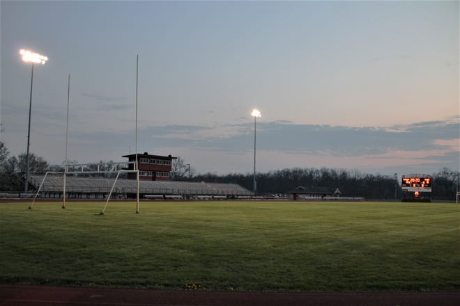 The lights were turned on and the scoreboard was lit up Friday night at Pleasant High School's Don Kay Stadium to honor the senior class of 2020. Schools across the nation have been closed due to the coronavirus pandemic, throwing end of the year plans into upheaval for students, their families, and school officials.
