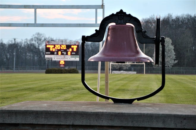 Pleasant High School turned on the lights and lit up the scoreboard Friday night at Don Kay Stadium to honor the senior class of 2020. Looking past the Victory Bell, the scoreboard at the west end of the stadium was programmed to read Spartans Class 2020. Marion County school district leaders are still trying to determine the safest and best way to stage graduation ceremonies for their seniors this year.