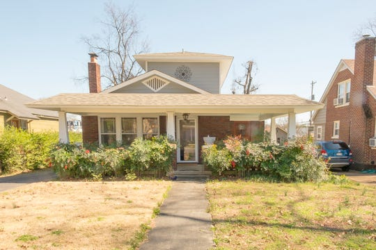 Michael Morrison and Lindy Wilson love the bungalow they purchased in the East Buntyn Historic District.