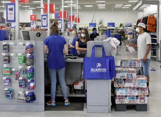 Academy held the first day of its Texas Emergency Preparation Supplies Sales Tax Holiday Saturday, April 25, 2020. The tax free event runs until Monday, April 27. Thetax free items include batteries, radios, light sources, food storage coolers, fuel containers, first aid kits, generators. Tax free items will be available in-store with free curbside or in-store pick-up as well as online.